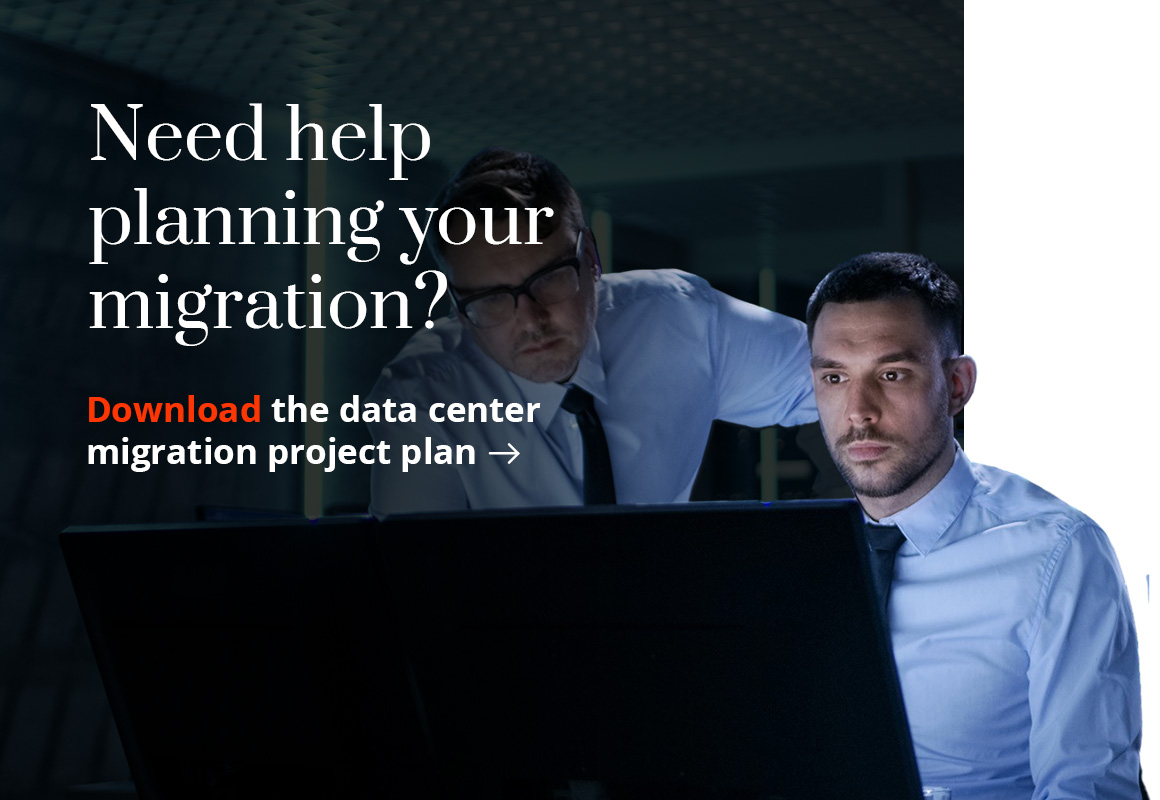 Need help planning your migration? Download the data center migration project plan